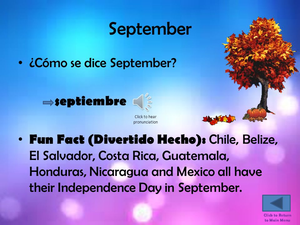 August ¿Cómo se dice August.
