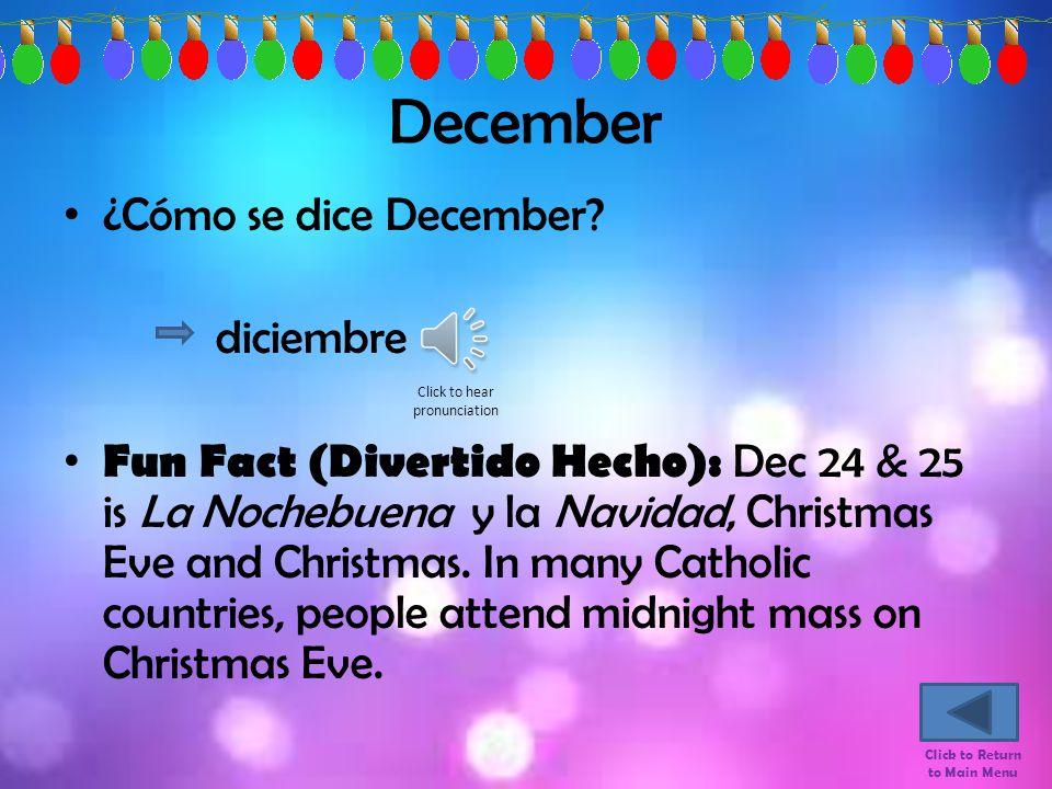 November ¿Cómo se dice November.