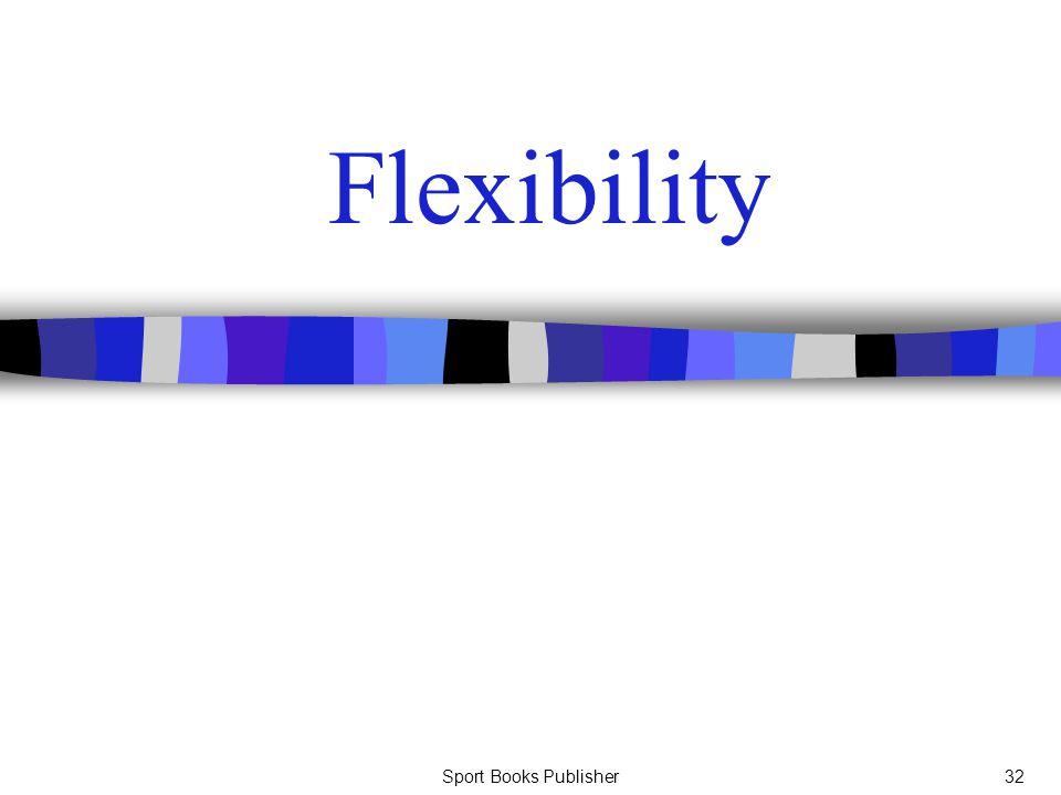Sport Books Publisher32 Flexibility
