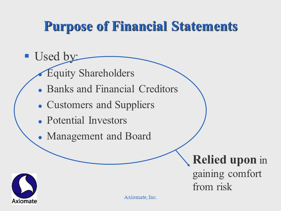 Axiomate, Inc. Dissecting the Balance Sheet – Left Side Thinking – Fixed Assets
