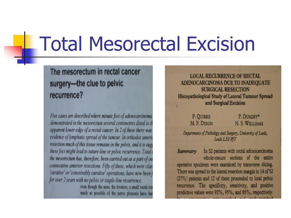 Total Mesorectal Excision