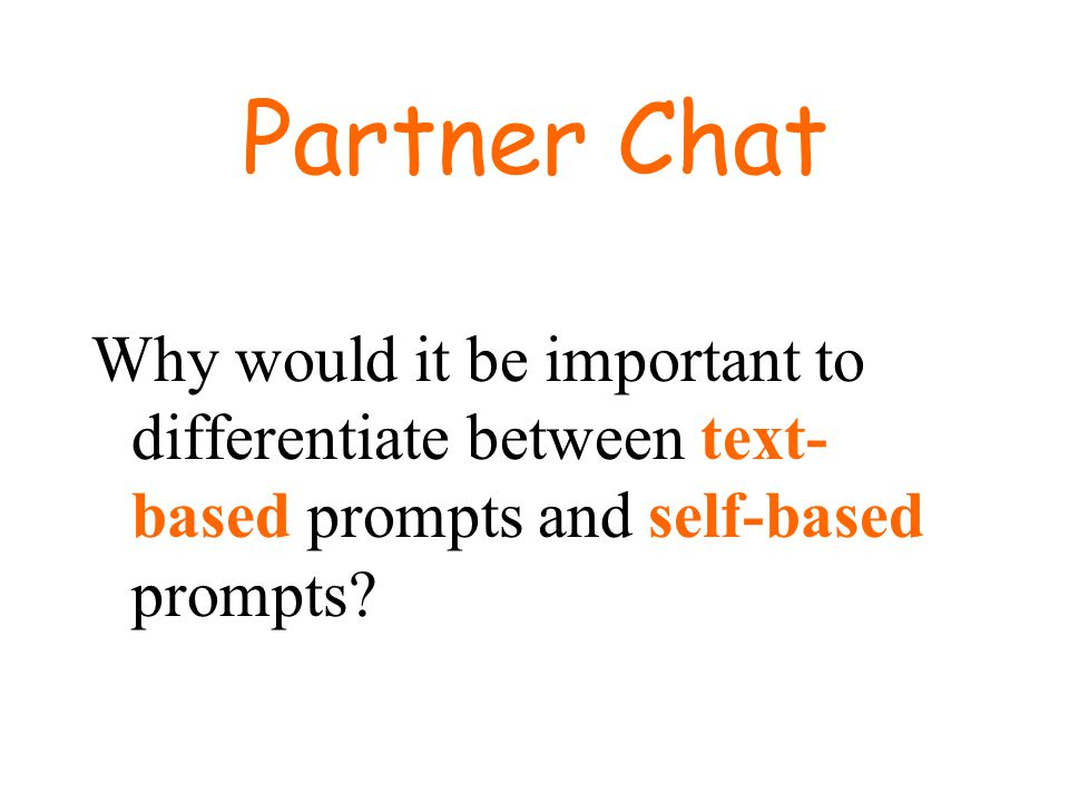 Prompt components Background information – previously learned or provided in question Prompt petitions – part of the prompt that tells you to do something rather than asks a question (explain, predict, describe, analyze, rate, compare, contrast, define) Prompt questions – specifically asks a question and ends with a question mark.