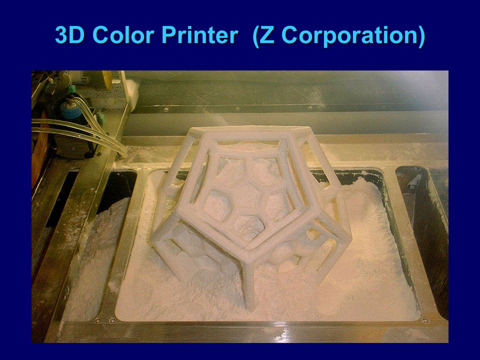 3D Color Printer (Z Corporation)