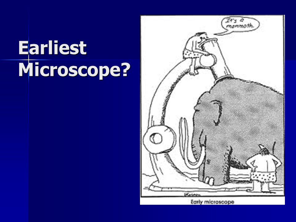 Earliest Microscope