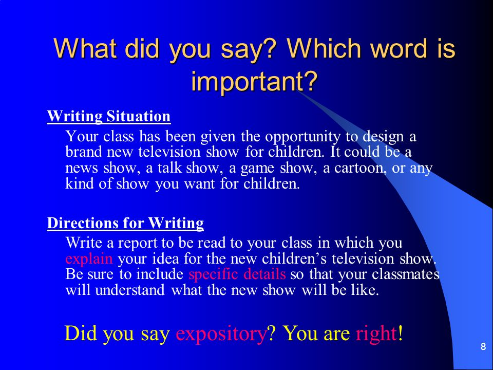 89 Today's Task Write a closing for your current persuasive essay. Share it with your teacher.