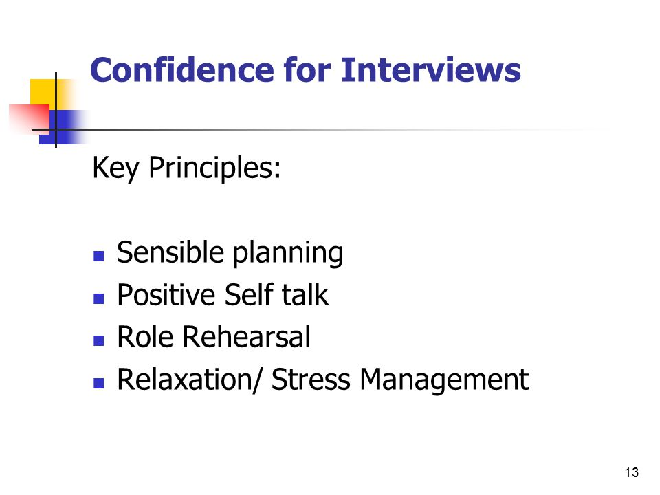 14 Developing Positive Self-Talk: Where/when am I already confident.