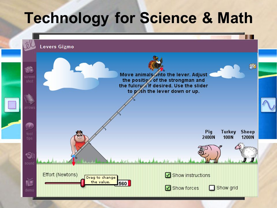 Technology for Science & Math