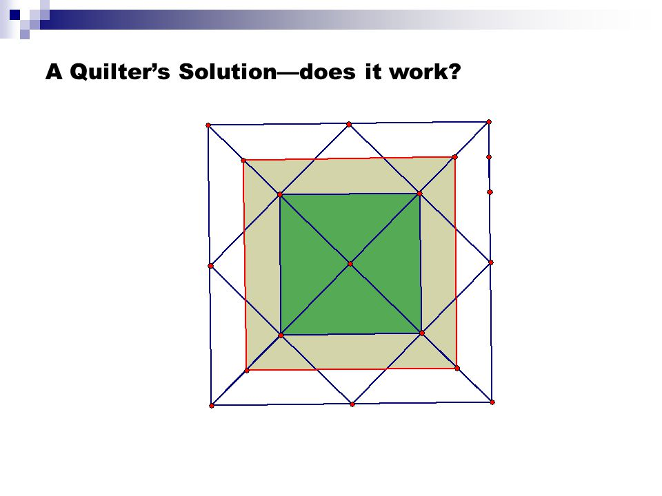 A Quilter's Solution—does it work?