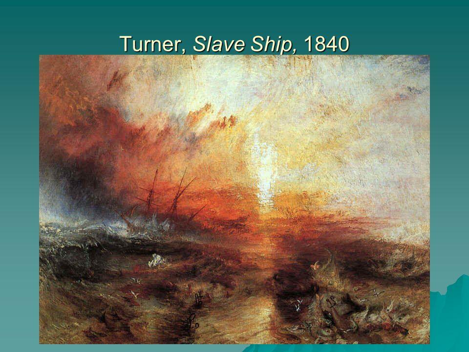 Turner, Slave Ship, 1840