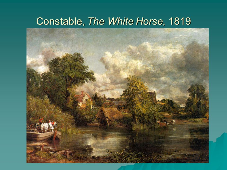 Constable, The White Horse, 1819