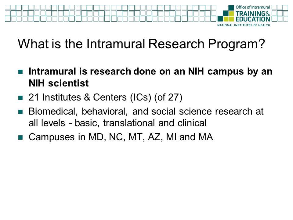 Postdocs in the IRP ~3600 Postdocs  ~2000 International  ~475 Clinical Fellows
