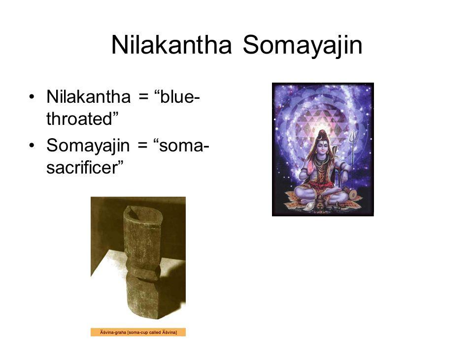 "Nilakantha Somayajin Nilakantha = ""blue- throated"" Somayajin = ""soma- sacrificer"""