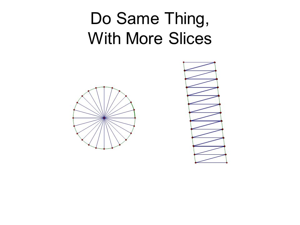 Do Same Thing, With More Slices