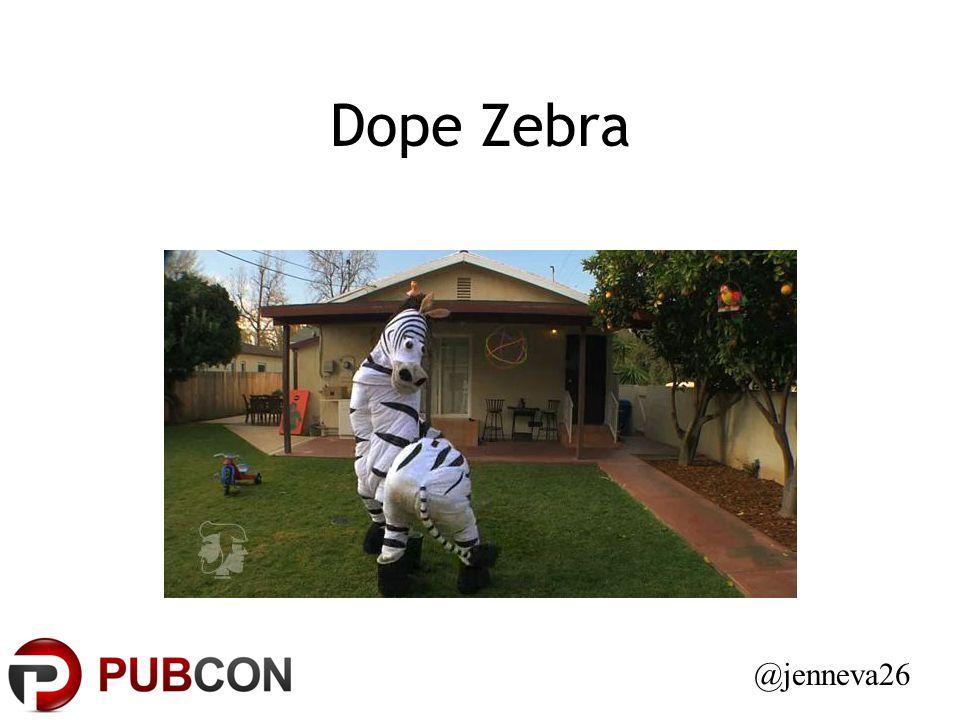 Dope Zebra @jenneva26