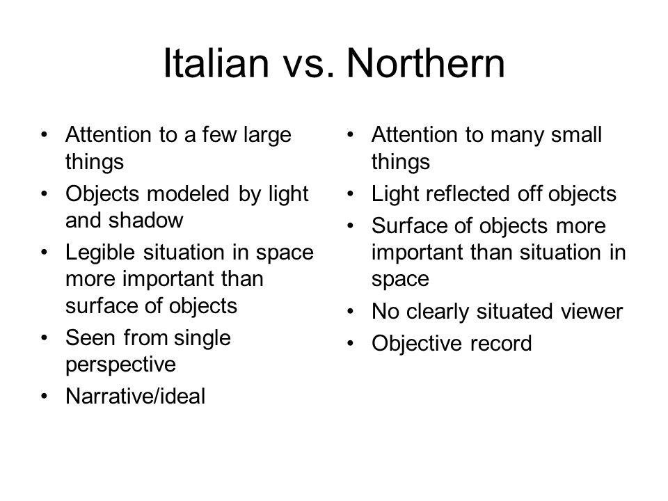 Italian vs.