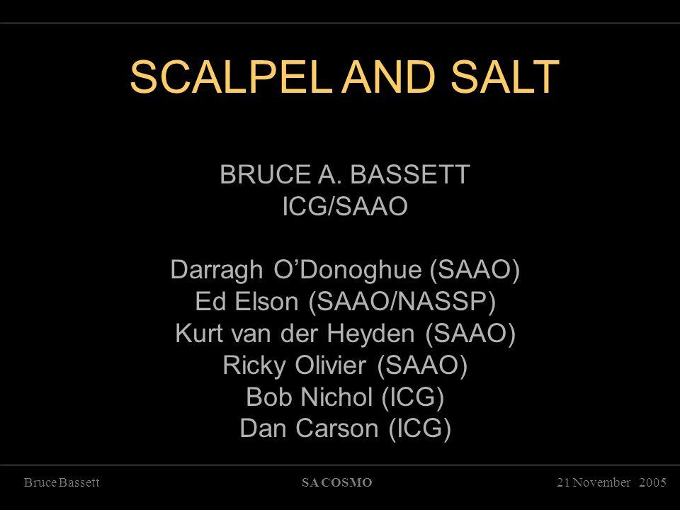 21 November 2005Bruce BassettSA COSMO SCALPEL AND SALT     '      SCALPEL AND SALT BRUCE A.