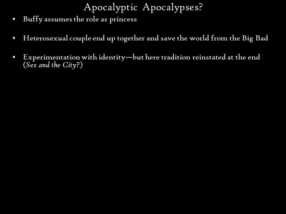 Apocalyptic Apocalypses.