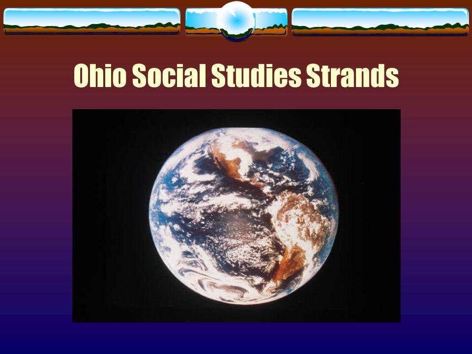 Ohio Social Studies Strands