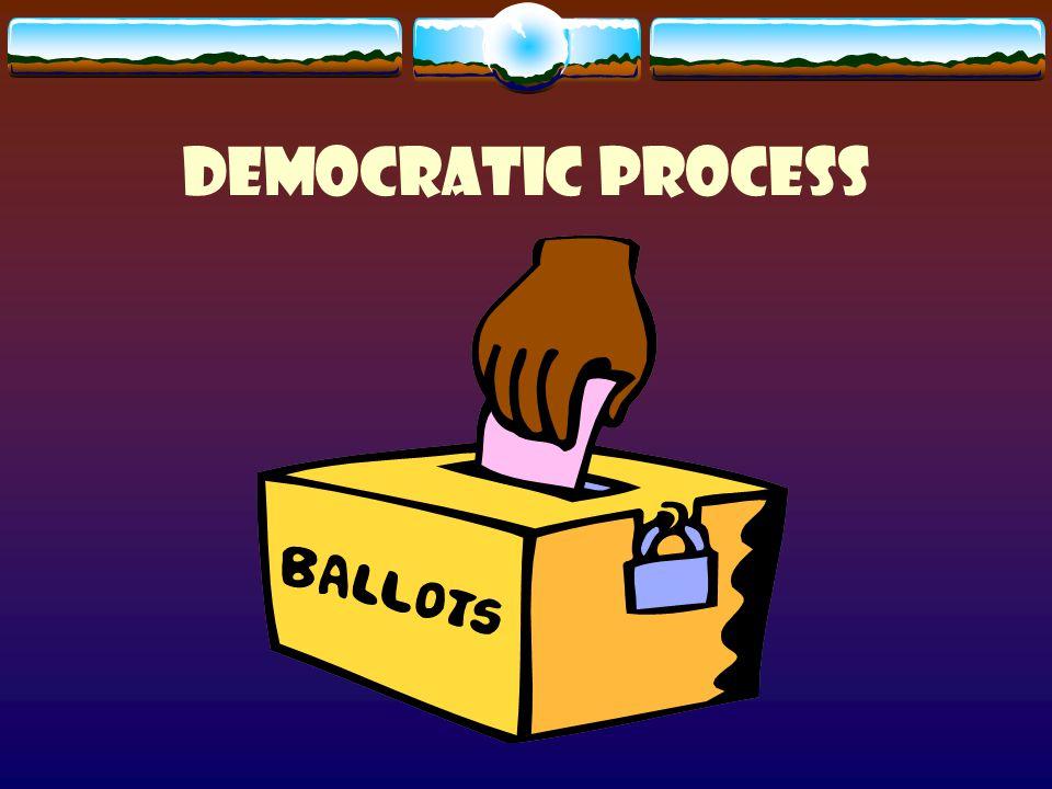 Democratic process