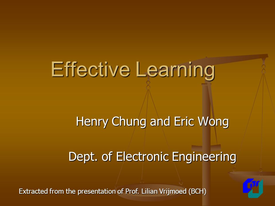 What is Effective Learning .