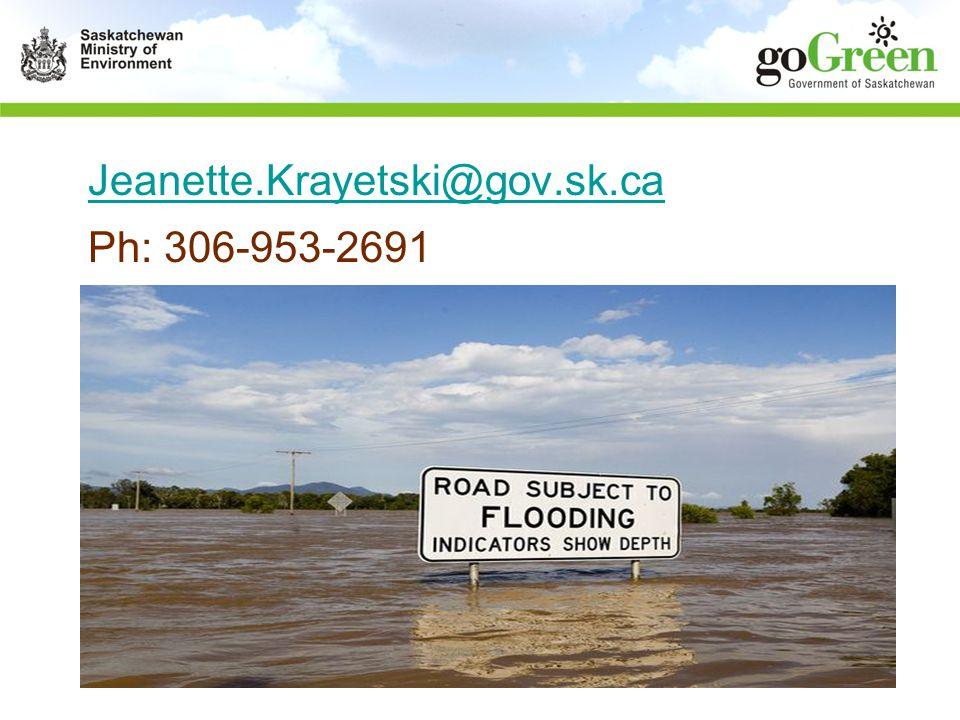 Jeanette.Krayetski@gov.sk.ca Ph: 306-953-2691