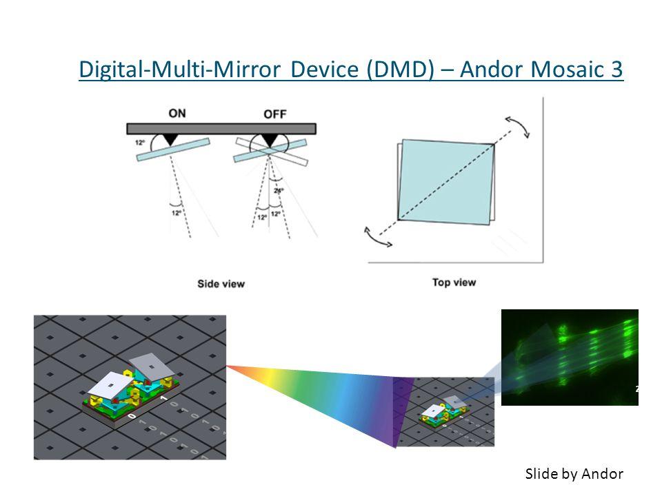 Digital-Multi-Mirror Device (DMD) – Andor Mosaic 3 27 Slide by Andor