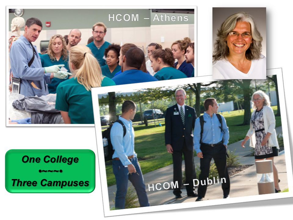 One College ~~~ Three Campuses