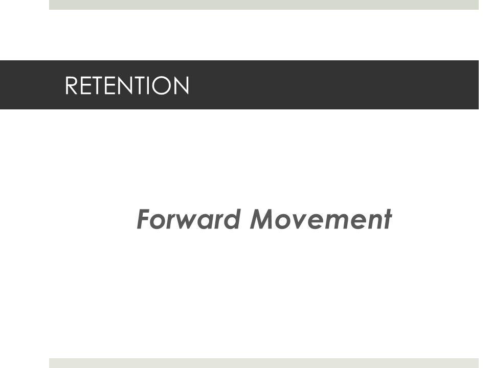 RETENTION Forward Movement