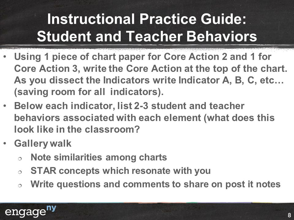 Tools for Looking for Student Engagement Take a few minutes and jot down how you could use these tools during instructional rounds.