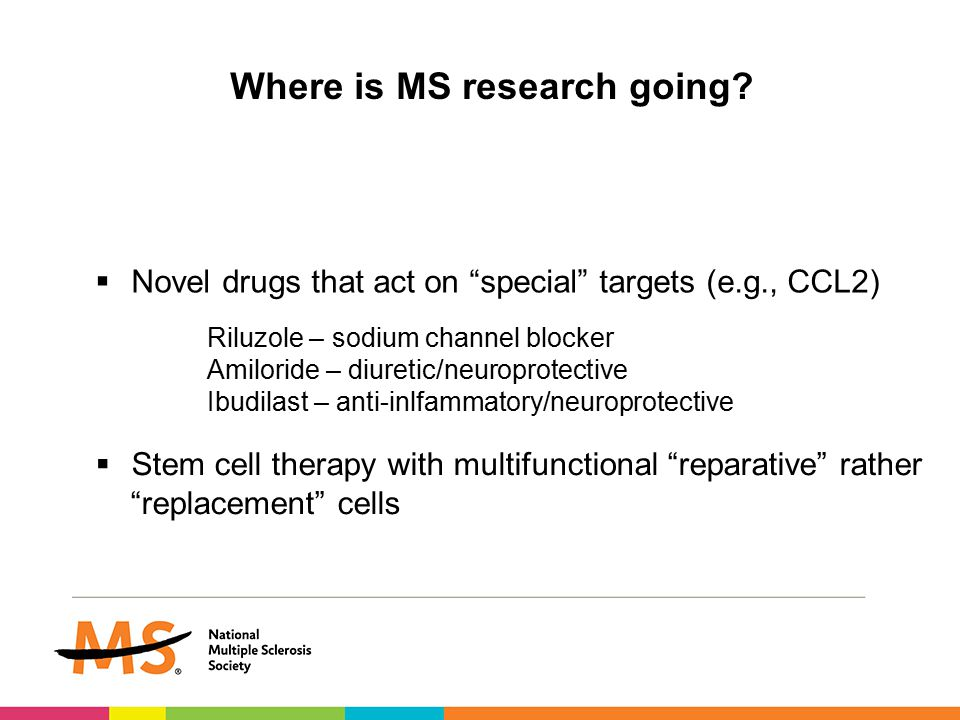 Where is MS research going.