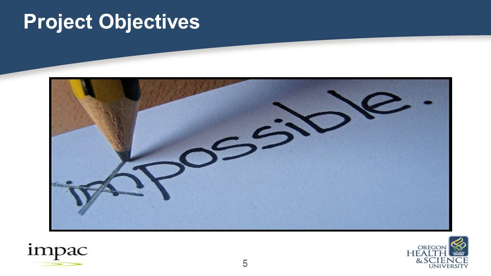 Project Objectives 5