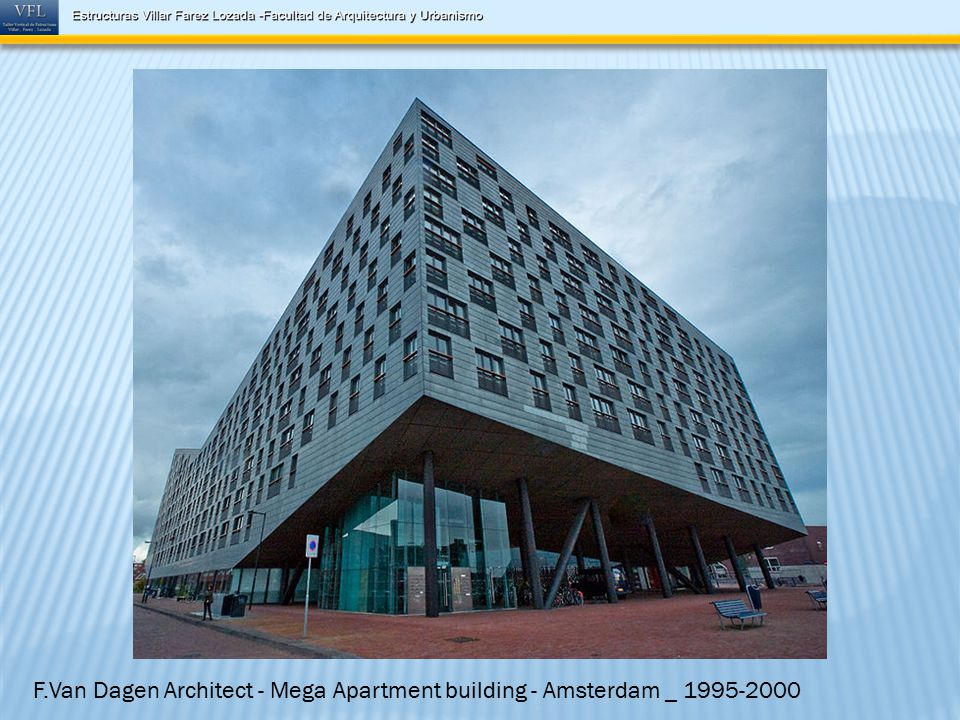 F.Van Dagen Architect - Mega Apartment building - Amsterdam _ 1995-2000