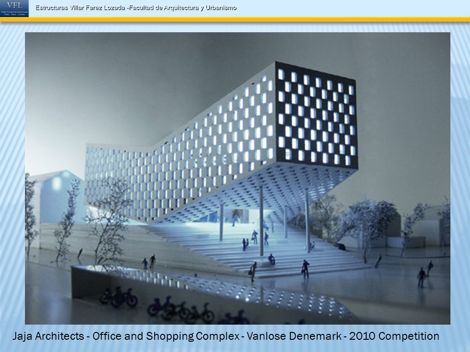 Jaja Architects - Office and Shopping Complex - Vanlose Denemark - 2010 Competition