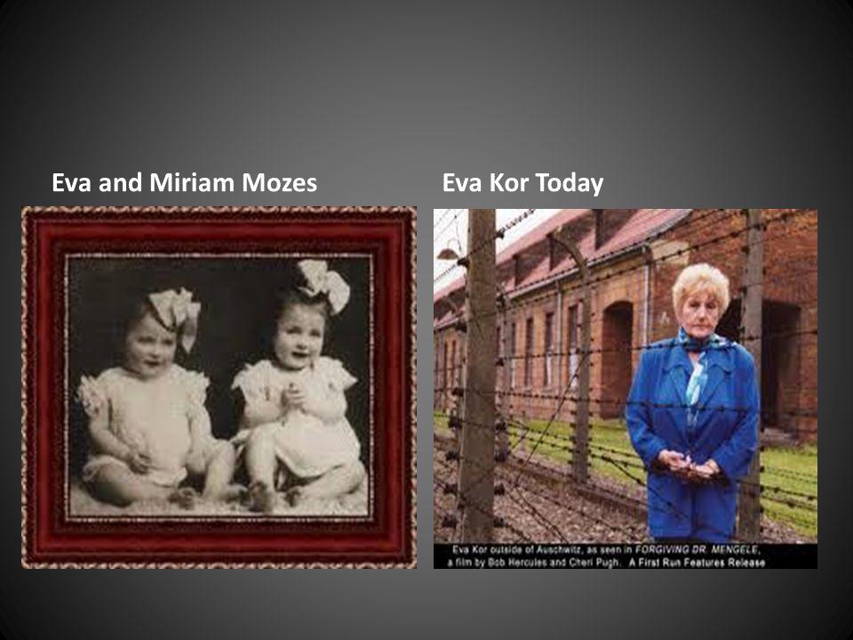 Eva and Miriam MozesEva Kor Today