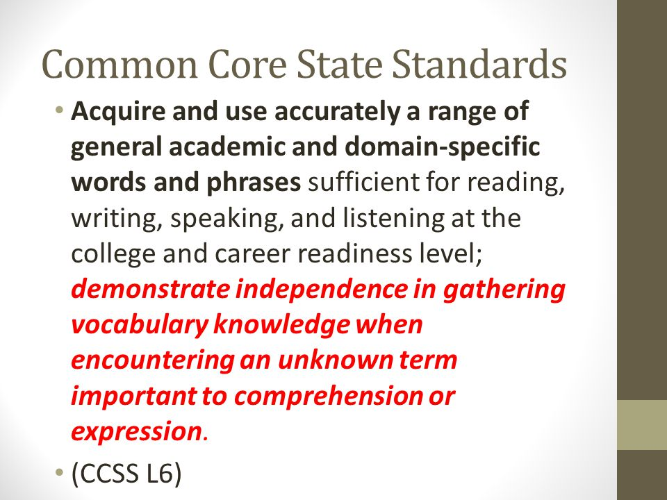 And if you're into Marzano… The first three steps are to assist the teacher in direct instruction.