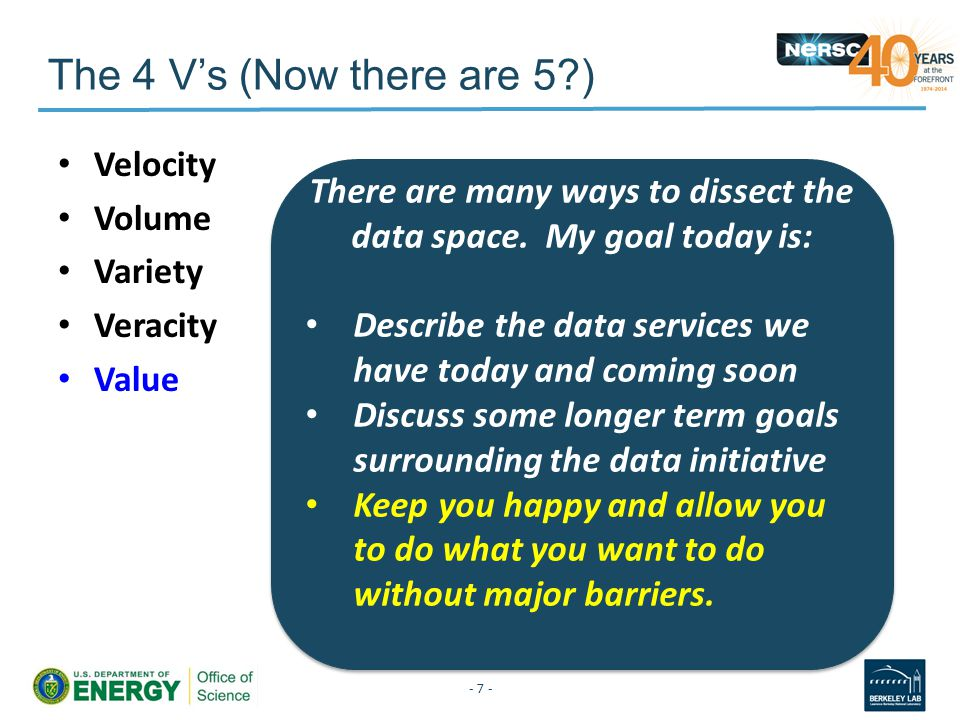 What do users need to do with data.