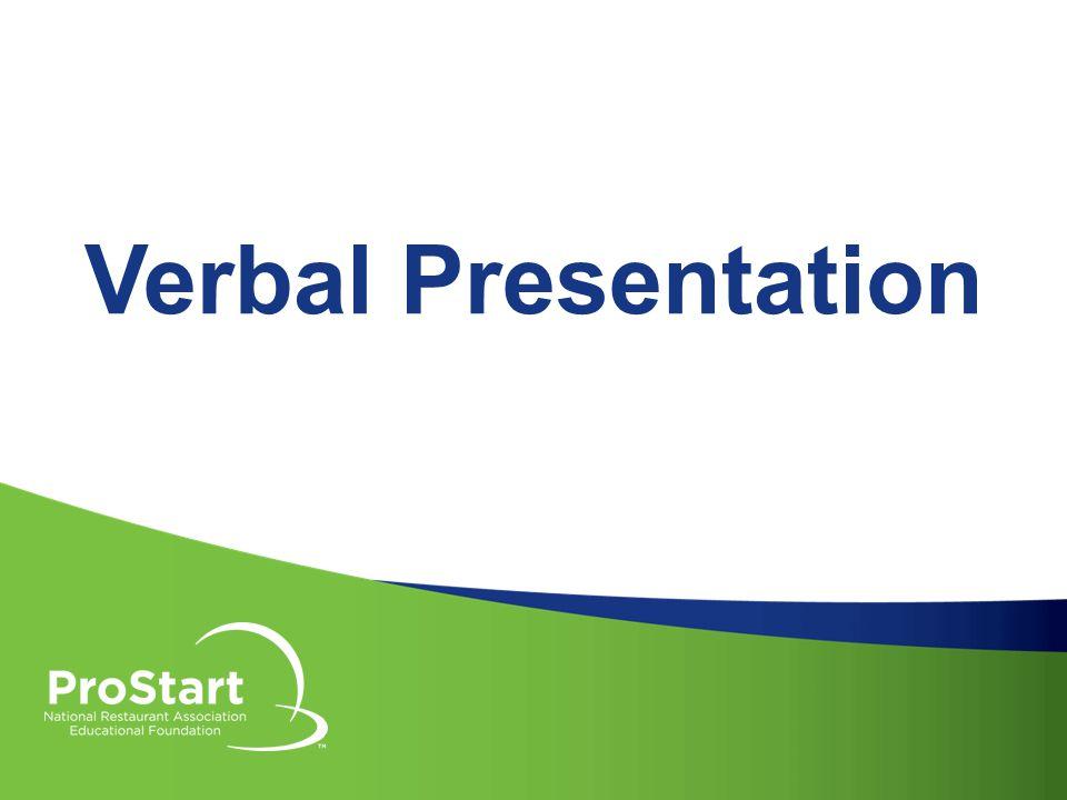 Verbal Presentation