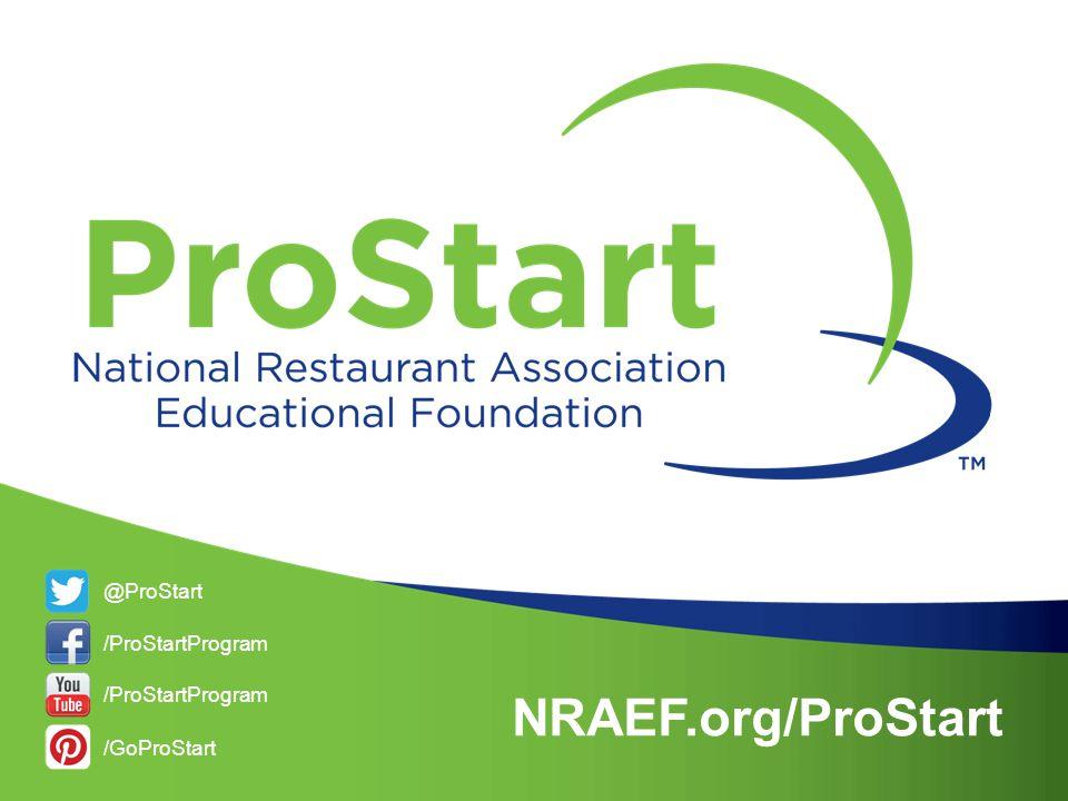 @ProStart /ProStartProgram /GoProStart NRAEF.org/ProStart /ProStartProgram