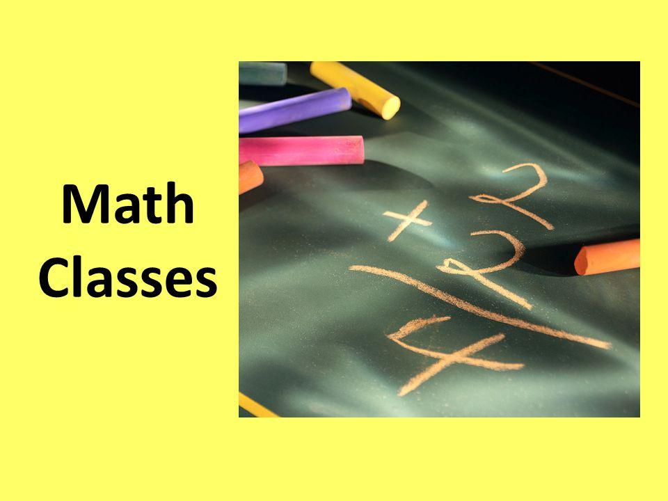 Math Classes