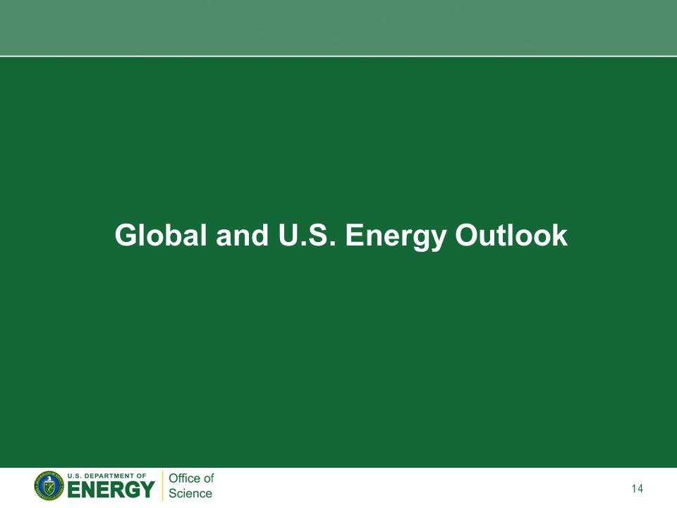 14 Global and U.S. Energy Outlook