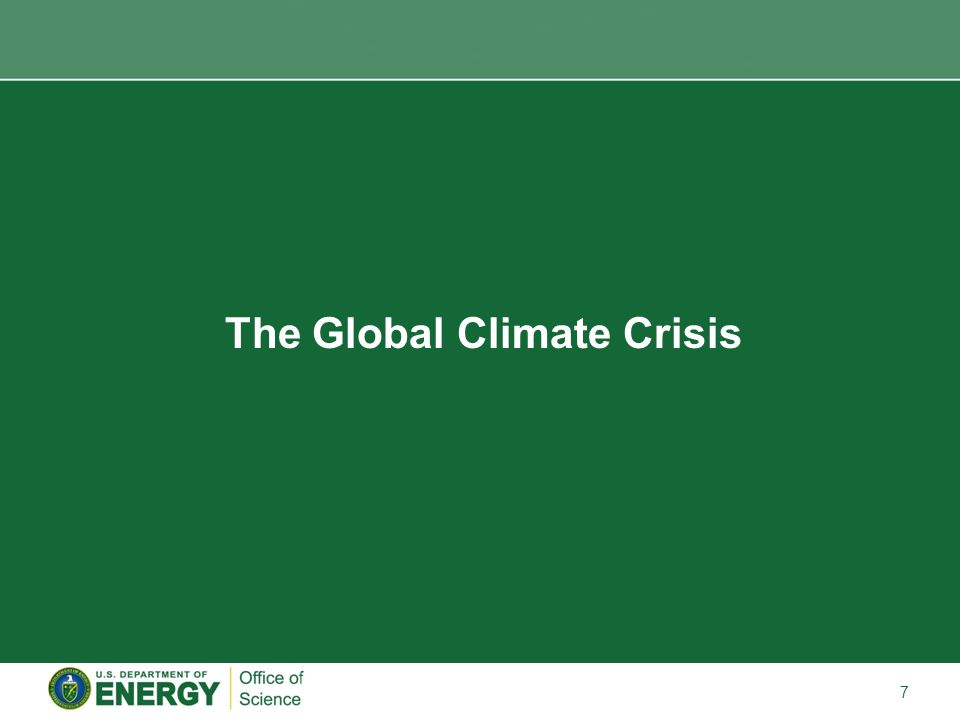 7 The Global Climate Crisis