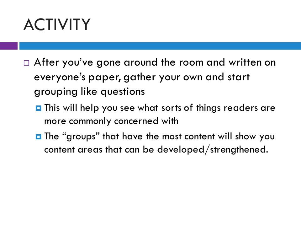 RETHINKING THE RESEARCH PAPER  Get in groups and discuss the following questions: 1.