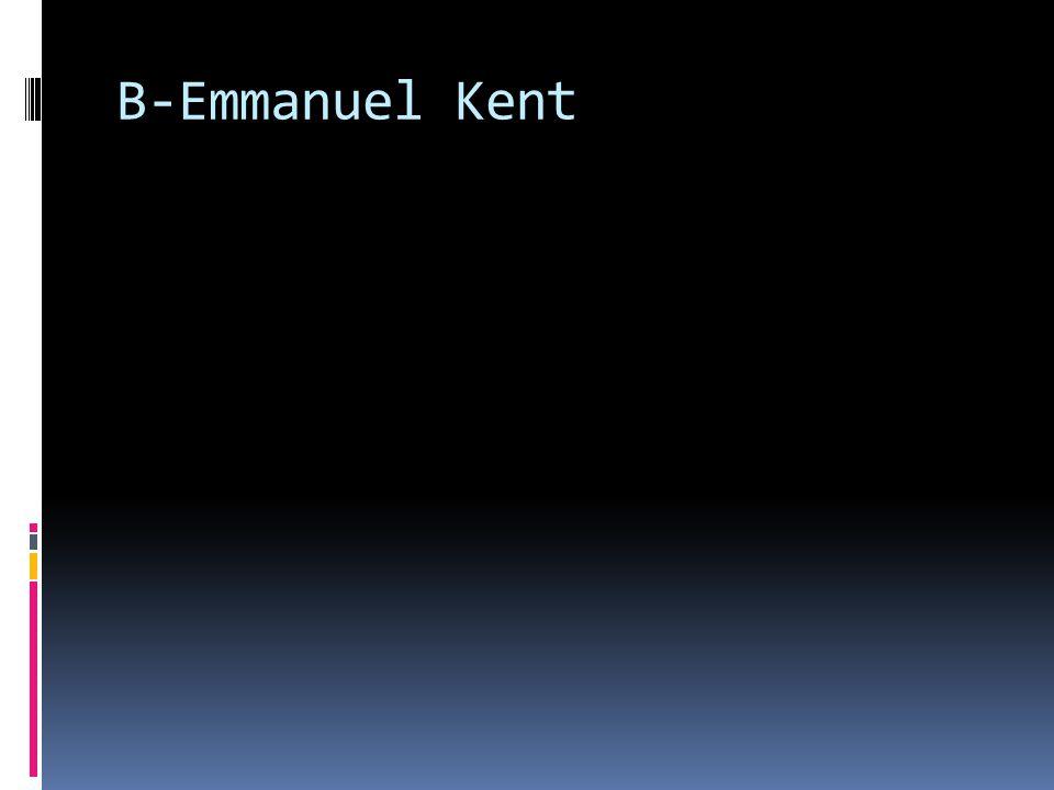 B-Emmanuel Kent