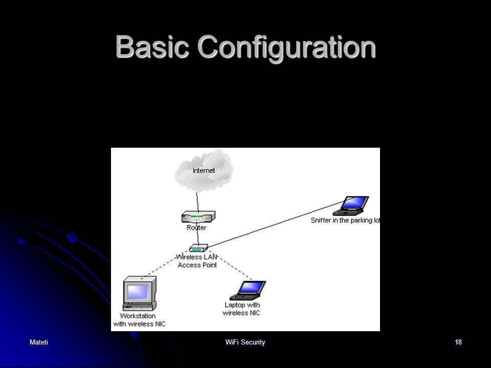 18 Basic Configuration MatetiWiFi Security