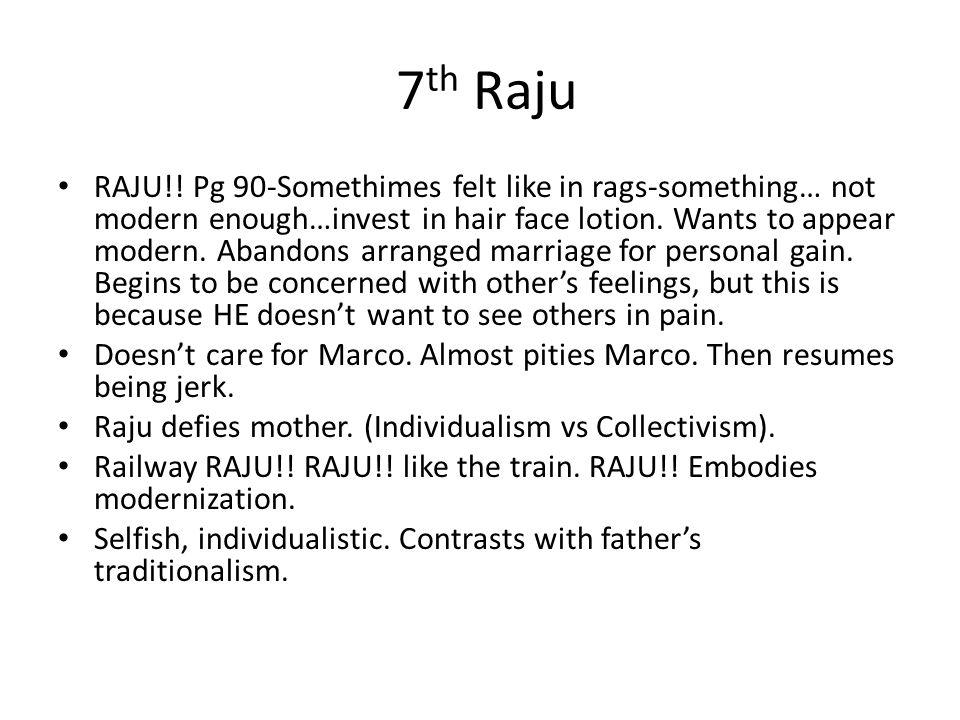 7 th Raju RAJU!.