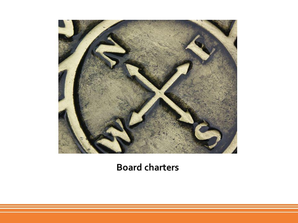 Board charters