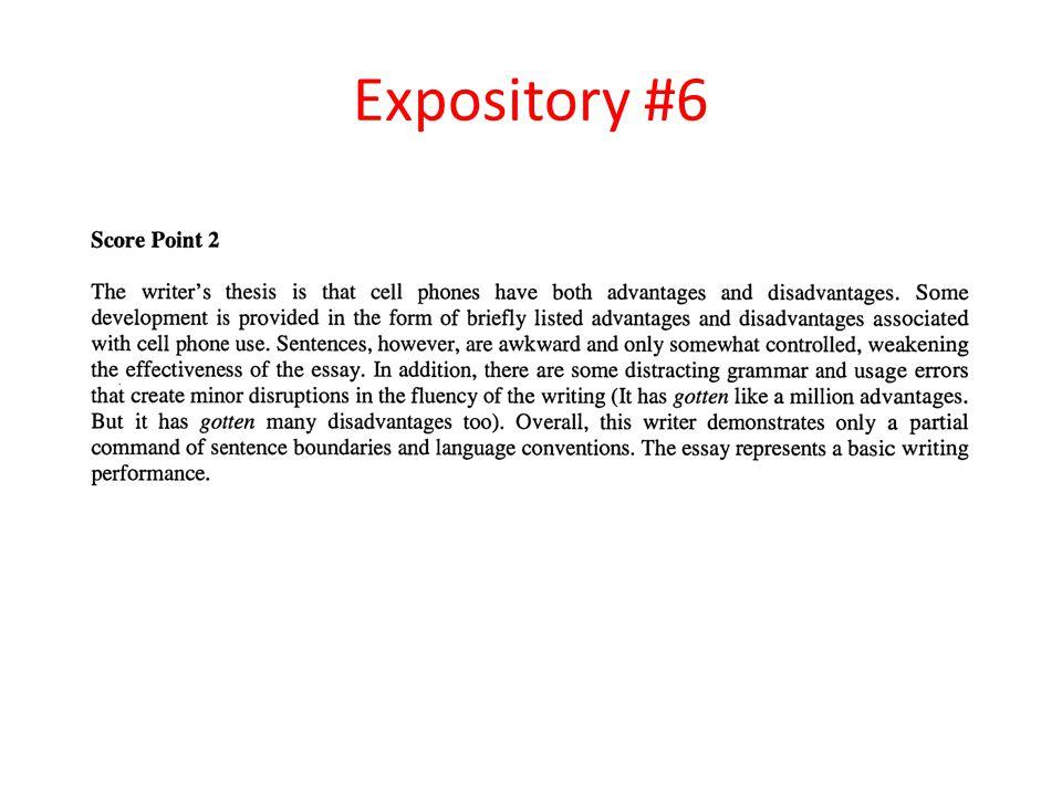 Expository #6