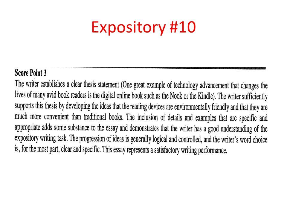 Expository #10