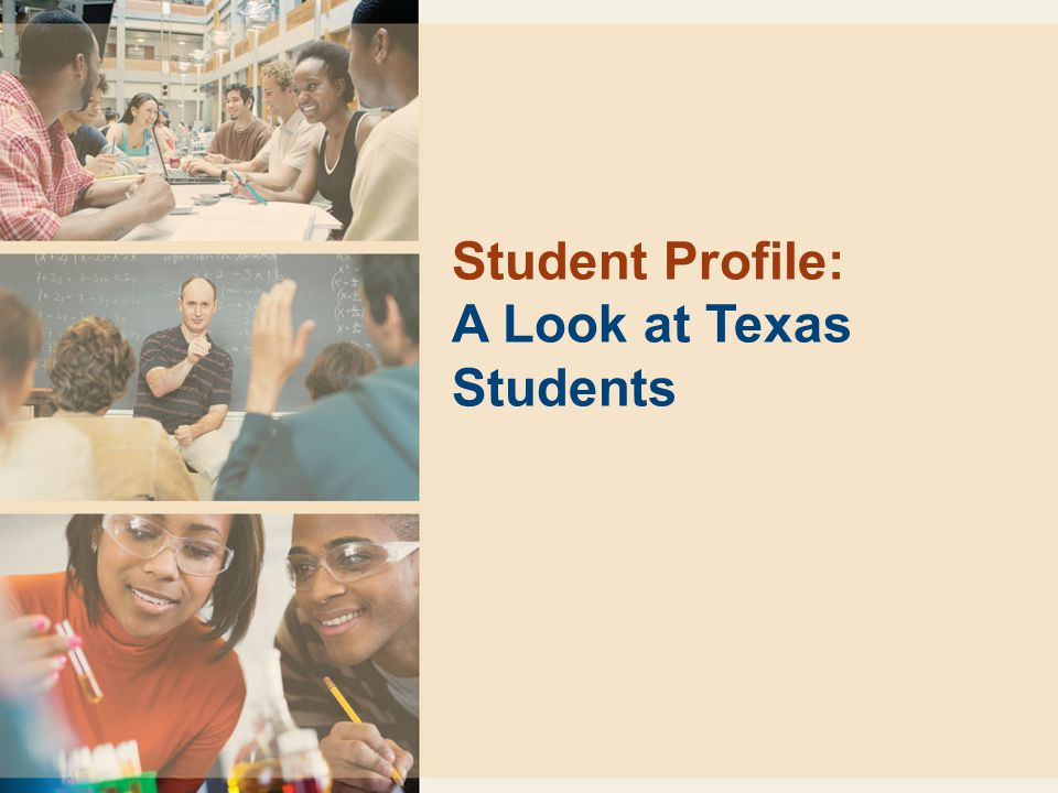 Student Profile: A Look at Texas Students
