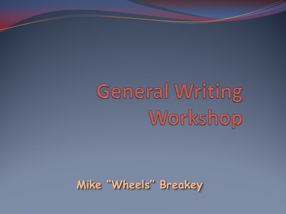 Mike Wheels Breakey